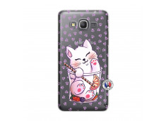 Coque Samsung Galaxy Grand Prime Smoothie Cat