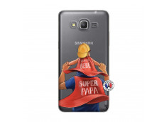 Coque Samsung Galaxy Grand Prime Super Papa et Super Bébé