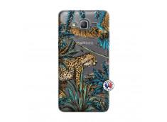 Coque Samsung Galaxy Grand Prime Leopard Jungle