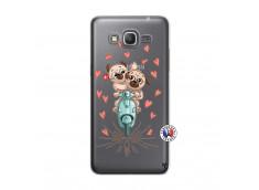 Coque Samsung Galaxy Grand Prime Puppies Love