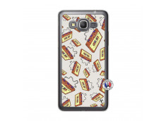 Coque Samsung Galaxy Grand Prime Vintage Tape Translu