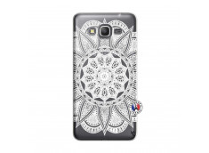 Coque Samsung Galaxy Grand Prime White Mandala