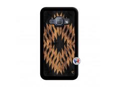 Coque Samsung Galaxy J1 2015 Aztec One Motiv Noir
