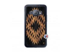 Coque Samsung Galaxy J1 2015 Aztec One Motiv Translu