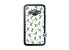 Coque Samsung Galaxy J1 2015 Le Monde Entier est un Cactus Translu