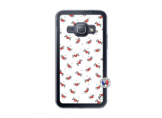 Coque Samsung Galaxy J1 2015 Cartoon Heart Translu