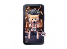 Coque Samsung Galaxy J1 2015 Cat Nasa Translu