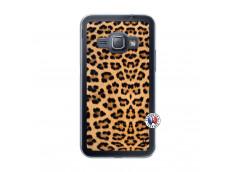 Coque Samsung Galaxy J1 2015 Leopard Style Translu