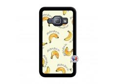 Coque Samsung Galaxy J1 2015 Sorbet Banana Split Noir