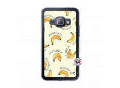 Coque Samsung Galaxy J1 2015 Sorbet Banana Split Translu