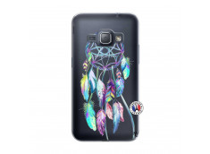 Coque Samsung Galaxy J1 2016 Blue Painted Dreamcatcher