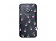 Coque Samsung Galaxy J1 2016 Cactus Pattern