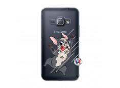 Coque Samsung Galaxy J1 2016 Dog Impact