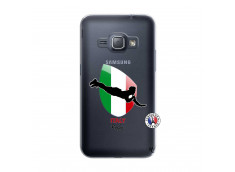 Coque Samsung Galaxy J1 2016 Coupe du Monde Rugby-Italy