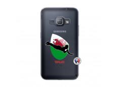 Coque Samsung Galaxy J1 2016 Coupe du Monde Rugby-Walles