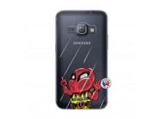 Coque Samsung Galaxy J1 2016 Dead Gilet Jaune Impact