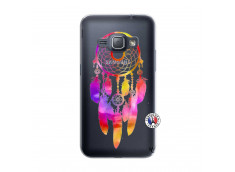 Coque Samsung Galaxy J1 2016 Dreamcatcher Rainbow Feathers