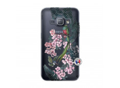 Coque Samsung Galaxy J1 2016 Flower Birds