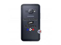 Coque Samsung Galaxy J1 2016 Frappe De Batard Comme Benjamin