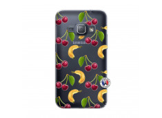 Coque Samsung Galaxy J1 2016 Hey Cherry, j'ai la Banane