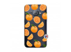 Coque Samsung Galaxy J1 2016 Orange Gina