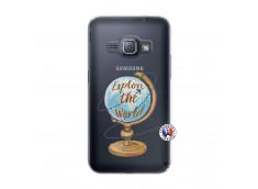 Coque Samsung Galaxy J1 2016 Globe Trotter