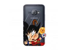 Coque Samsung Galaxy J1 2016 Goku Impact