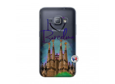 Coque Samsung Galaxy J1 2016 I Love Barcelona