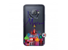 Coque Samsung Galaxy J1 2016 I Love Moscow