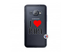 Coque Samsung Galaxy J1 2016 I Love Papa