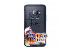 Coque Samsung Galaxy J1 2016 I Love Rome