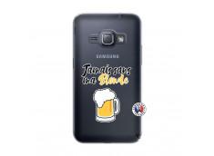 Coque Samsung Galaxy J1 2016 Jamais Sans Ma Blonde
