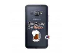 Coque Samsung Galaxy J1 2016 Jamais Sans Ma Brune