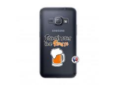 Coque Samsung Galaxy J1 2016 Jamais Sans Ma Rousse