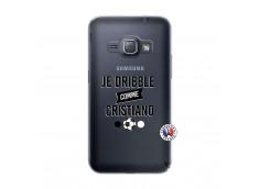 Coque Samsung Galaxy J1 2016 Je Dribble Comme Cristiano