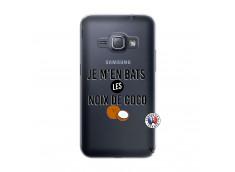 Coque Samsung Galaxy J1 2016 Je m'en bats Les Noix De Coco