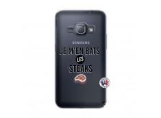 Coque Samsung Galaxy J1 2016 Je M En Bas Les Steaks