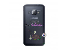 Coque Samsung Galaxy J1 2016 Je Peux Pas J Ai Badminton