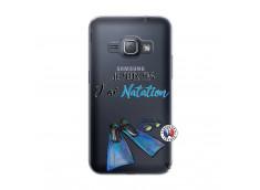 Coque Samsung Galaxy J1 2016 Je Peux Pas J Ai Natation