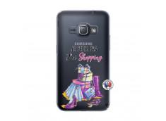 Coque Samsung Galaxy J1 2016 Je Peux Pas J Ai Shopping