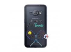 Coque Samsung Galaxy J1 2016 Je Peux Pas J Ai Tennis
