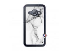Coque Samsung Galaxy J1 2016 White Marble Translu