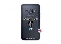 Coque Samsung Galaxy J1 2016 Marseillais à Vie