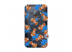 Coque Samsung Galaxy J1 2016 Poisson Clown