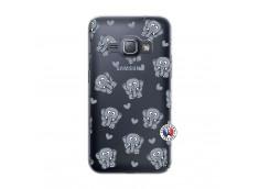 Coque Samsung Galaxy J1 2016 Petits Elephants