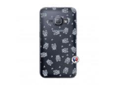 Coque Samsung Galaxy J1 2016 Petits Hippos