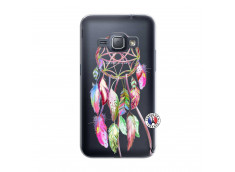 Coque Samsung Galaxy J1 2016 Pink Painted Dreamcatcher