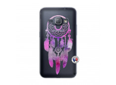 Coque Samsung Galaxy J1 2016 Purple Dreamcatcher