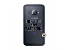 Coque Samsung Galaxy J1 2016 Rien A Foot Allez Barcelone