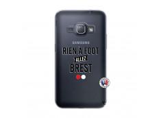 Coque Samsung Galaxy J1 2016 Rien A Foot Allez Brest